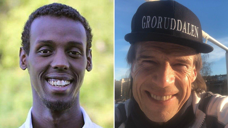 Abdi Said og Jan Bøhler