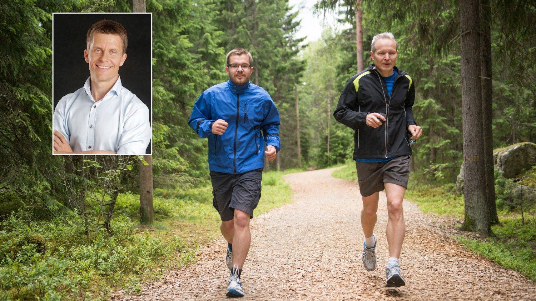 FORLENGE LIVET: Fastlege og hjerneforsker Ole Petter Hjelle har skrevet om de syv nøklene til et lengre liv, og fysisk aktivitet og sosialt samvær er to av dem.