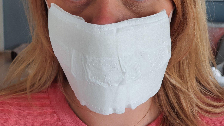 Verdens helseorganisasjon (WHO) sier bruk av dopapir som ansiktsbeskyttelse har i beste fall en kortvarig og begrenset effekt.