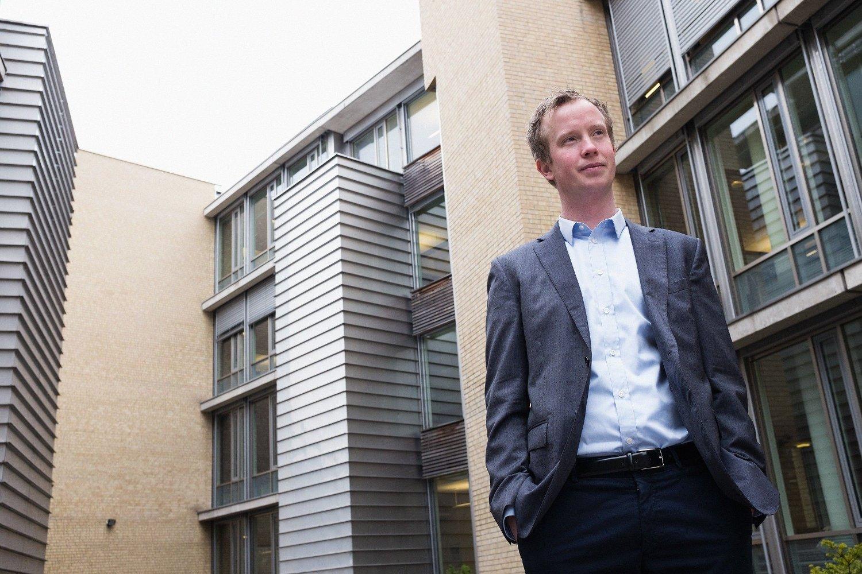 NYE INKASSOTALL: Gjeldsanalytiker Morten Trasti i Lindorff kommer med ferske tall om inkassoutviklingen i Norge.