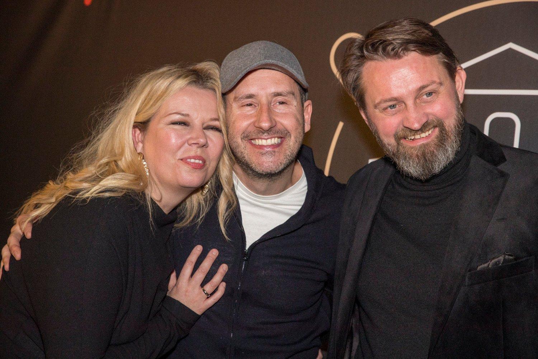 Oslo 20200109. Thomas Numme og Annette Walther Numme er klar for tv-serien