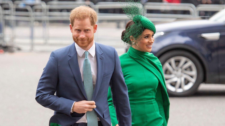 TO STEDER: Hertugparet deler tiden sin mellom Storbritannia og USA. Nå dukker bilder opp fra det som skal være duoens Hollywood-hjem.