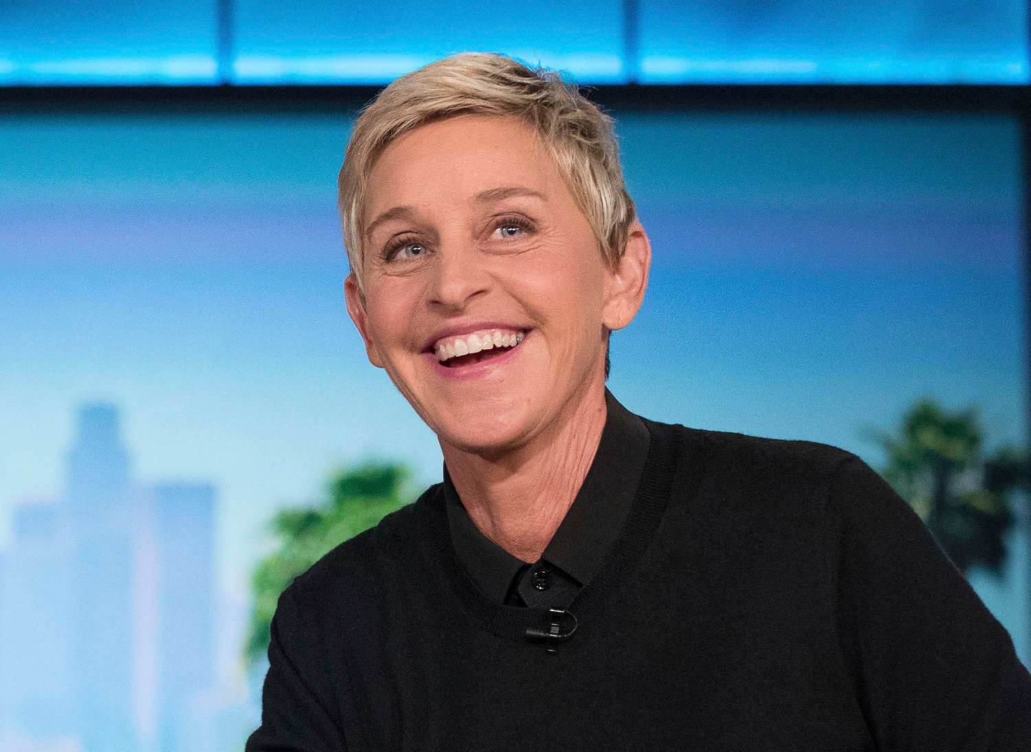Ellen DeGeneres Lottery Giveaway FILE - In this Oct. 13, 2016, file photo, Ellen DeGeneres appears during a commercial break at a taping of