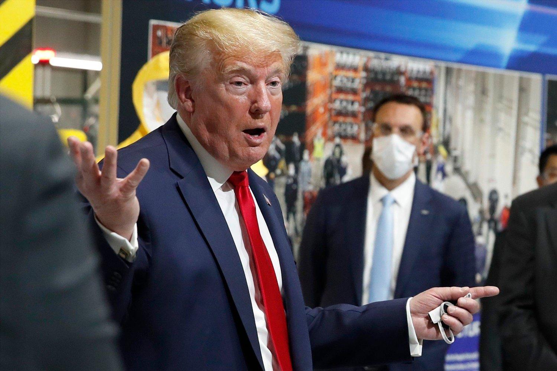 President Donald Trump kom med et ondsinnet sleivspark til en kriserammet medieorganisasjon da han omtalte nedbemanning i The Atlantic som «gode nyheter».