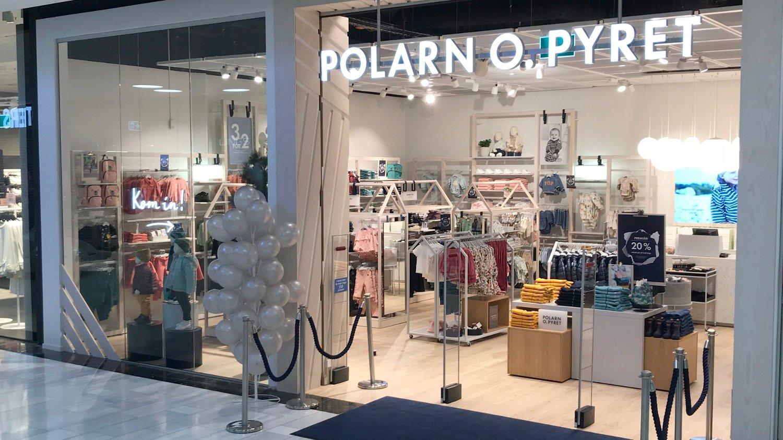VIL UNNGÅ KONKURS: Kleskjeden Polarn O. Pyret må legge ned butikker og si opp ansatte for å sikre videre drift.