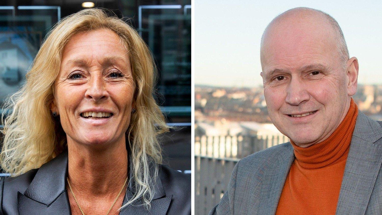 NORMALT: Nå har det snudd igjen, og boligmarkedet begynner å bli som normalt igjen, opplyser meglertoppene Grethe Wittenberg Meier i Privatmegleren og Terje Buraas i Dnb Eiendom.