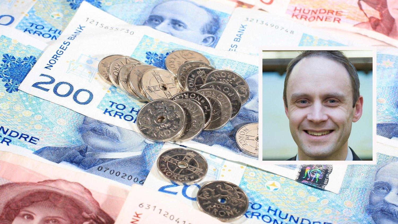 I VERDENSKLASSE: Valutastrateg Magne Østnor i DNB Markets (innfelt) kan konstatere at vår hjemlige valuta har vært sterkest av dem alle.
