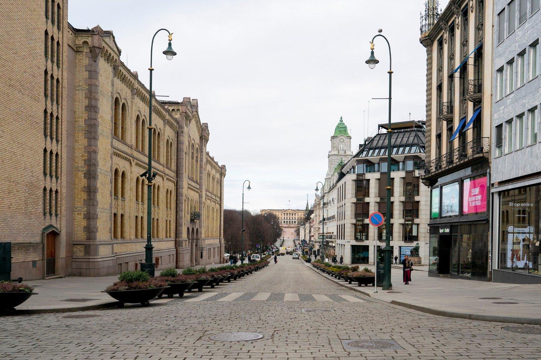 GHOST TOWN? Nei, så ille er det ikke i Oslo sentrum, men butikkeierne innenfor Ring 1 har ingen grunn til å juble over fjorårsutviklingen.