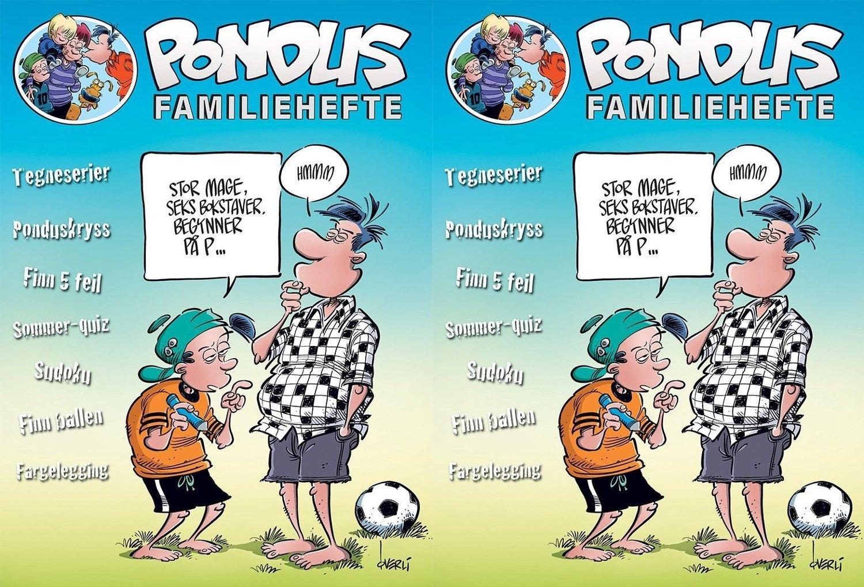 Pondus Familiehefte er fylt med spennende oppgaver for hele familien.