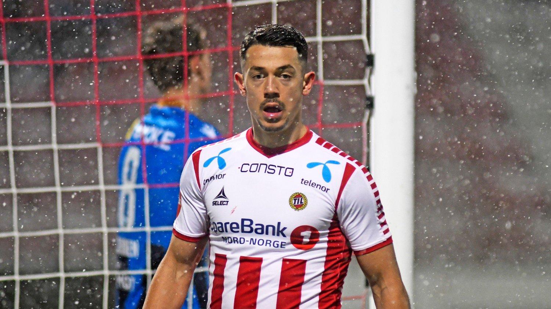 Tromsø 20181201. Eliteserien 2019, Alfheim stadion, Tromsø-Stabæk 1-1. Tromsøs Fitim Azemi i kampen mellom Tromsø og Stabæk.