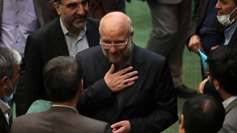 LEDER NASJONALFORSAMLINGEN: Mohamad Bagher Ghaliba ble valgt som president i den iranske nasjonalforsamlingen i slutten av mai. Innsender hevder at Ghaliba aldeles ikke er «reformvennlig».