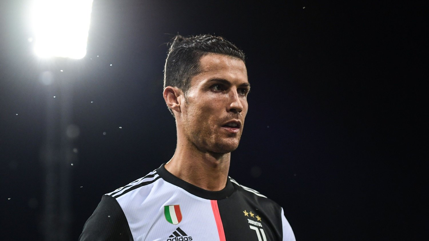 Juventus' Portuguese forward Cristiano Ronaldo leaves the pitch at the end of the Italian Serie A football match Bologna vs Juventus on June 22, 2020 at the Renato-Dall'Ara stadium in Bologna, as the country eases its lockdown aimed at curbing the spread of the COVID-19 infection, caused by the novel coronavirus.