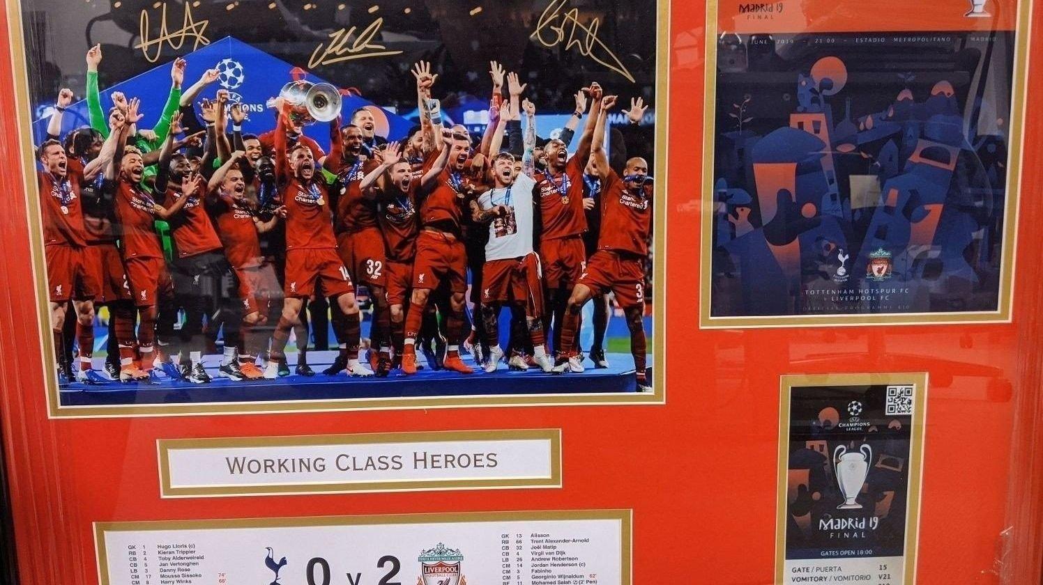 Liverpool suverinir
