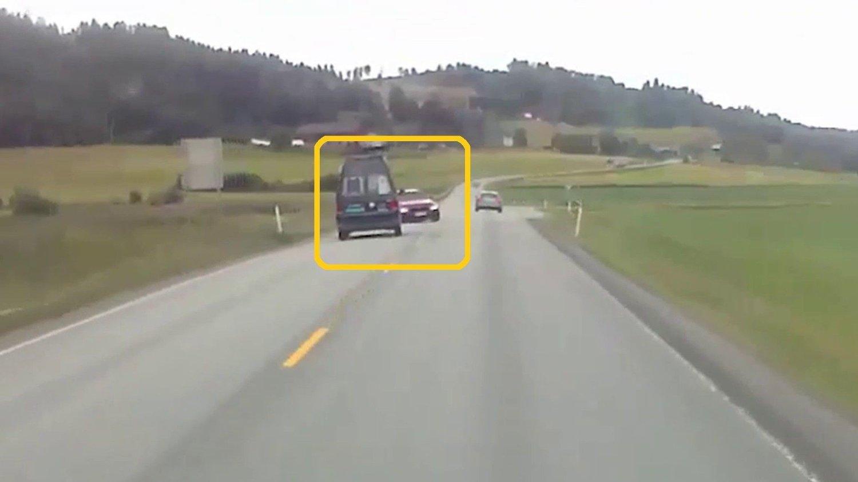 Politiet ute på veien
