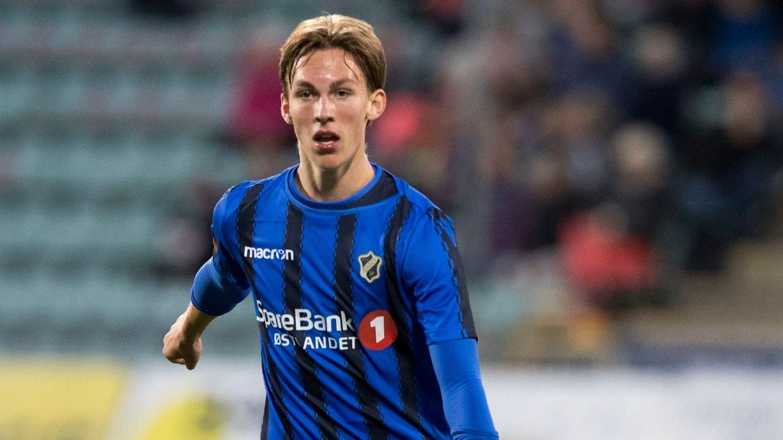 Bekkestua 20180923. Kristoffer Askildsen under eliteseriekampen mellom Stabæk-Ranheim på Nadderud stadion. MMB.