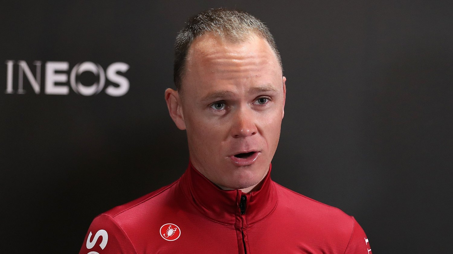 File photo dated 01-05-2019 of Chris Froome during a press conference to launch Team INEOS at The Fountaine Free in Linton, Yorkshire.