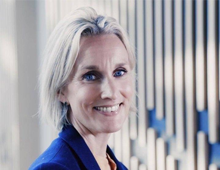 TAR MARKEDSANDELER: Personmarkedsdirektør Randi Marjamaa i Nordea Norge kan konstatere at de primært knuser DNB i bedriftsmarkedet.