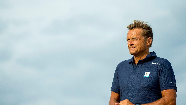 FRASTJÅLET: Tyver stakk av gårde med vinnertofeet til Dag Otto Lauritzen etter at han vant en etappe i Tour de France i 1987.