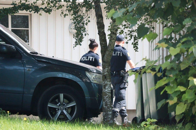 DØDE: En mann i 50-årene døde i Verdal lørdag morgen.