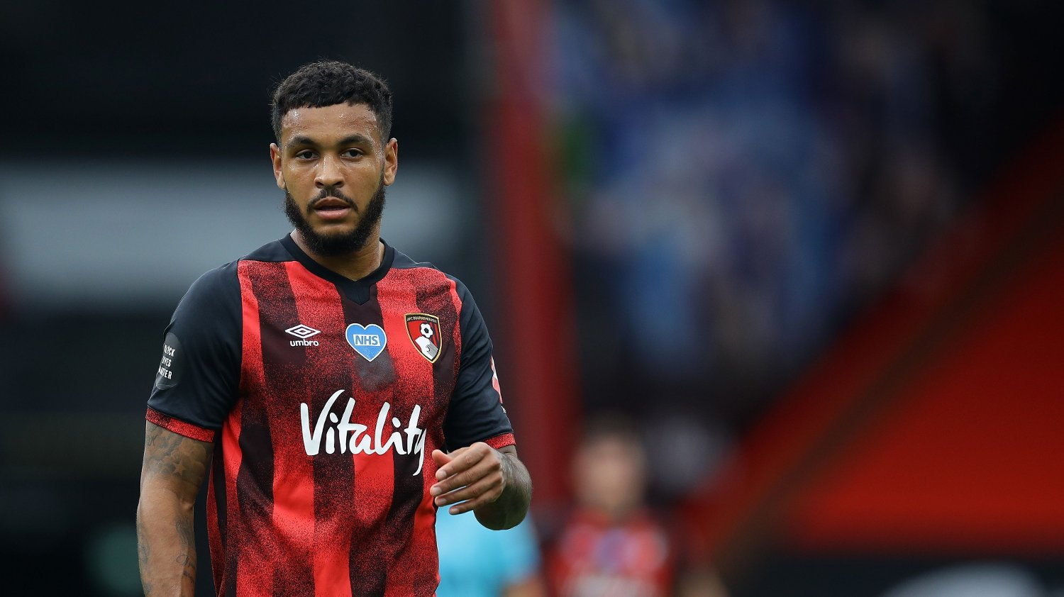Bournemouth's Joshua King during the Premier League match at the Vitality Stadium, Bournemouth. Picture date: 9th July 2020. Picture credit should read: David Klein/Sportimage via PA Images