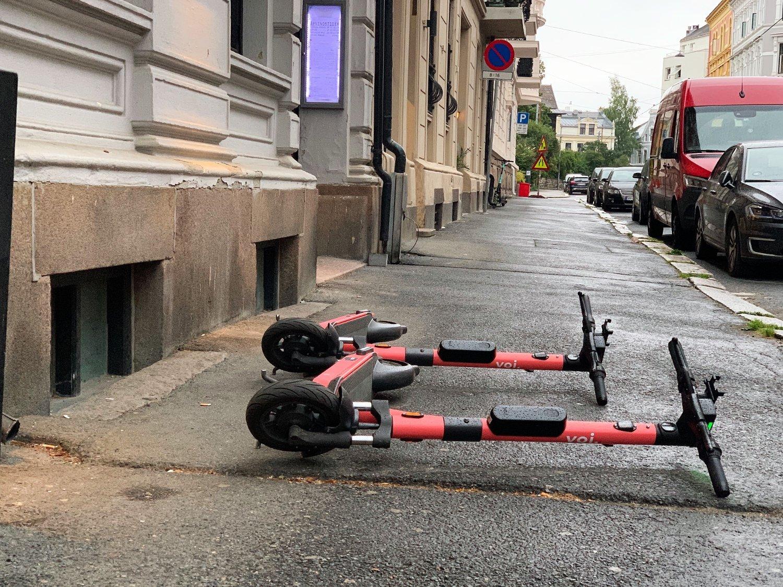Slik ser det ut på Frogner i Oslo tidlig onsdag 5. august.