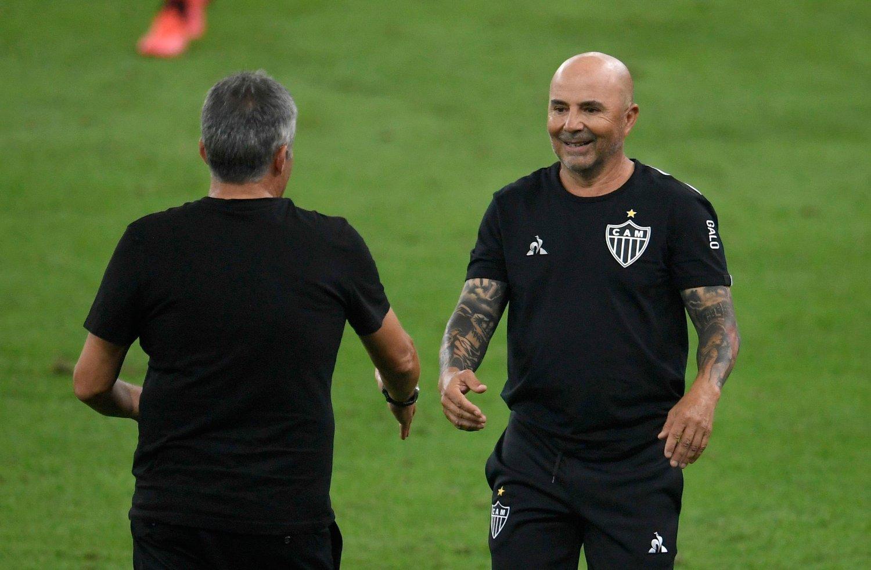 Atletico Mineiro's coach, Argentine Jorge Sampaoli