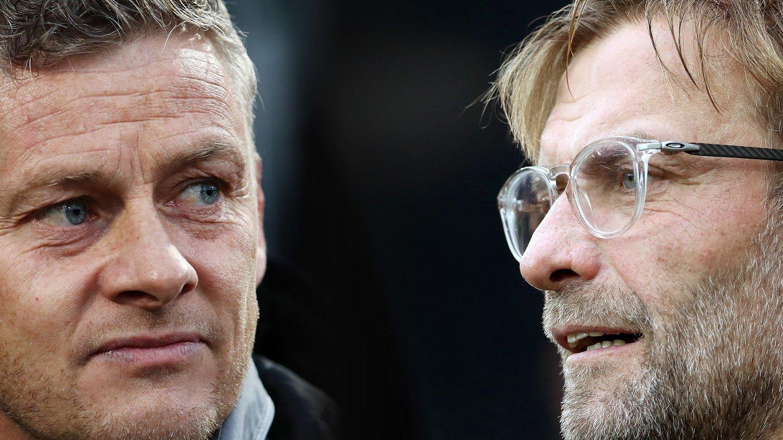 Ole Gunnar Solskjær er to av managerne som vil kjempe om Premier League-trofeet sesongen 20/21.