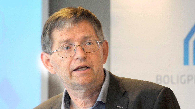 LAVERE PRODUKSJON: Adm. direktør Per Jæger i Boligprodusentene har i lang tid vært bekymret over den lave boligproduksjonen i Oslo.