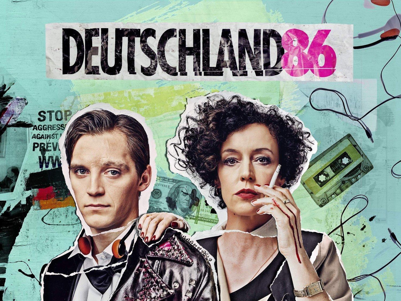 Coverbildet til Deutschland 86.