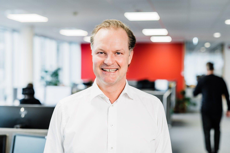 Administrerende direktør Øyvind Thomassen i Sbanken.