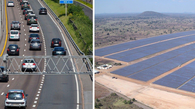 Central Solar do Mocuba, Mosambiks første storskala solkraftverk. Norfund har investert til sammen 85,6 millioner i prosjektet.