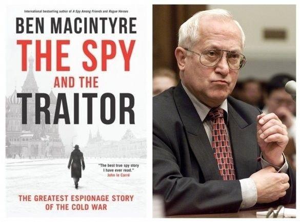 Oleg Gordijevskij og boken Spion og forræder.
