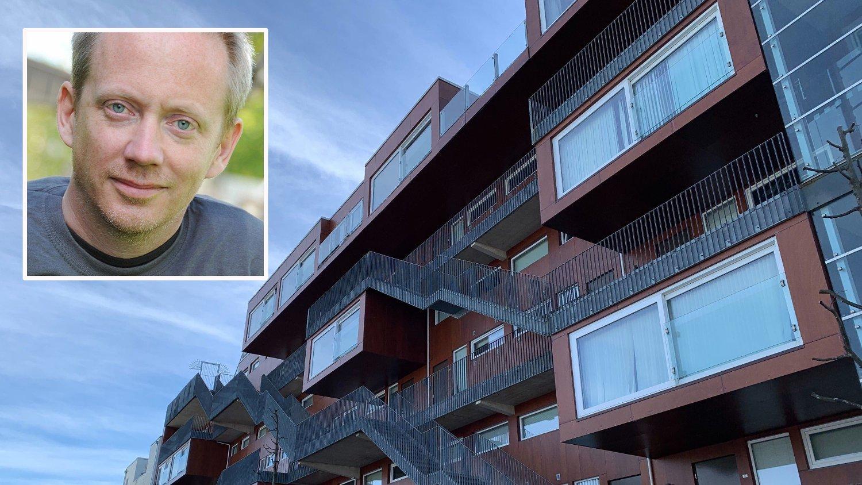 Dag Øistein Endsjø og mindre leiligheter i Stavanger.