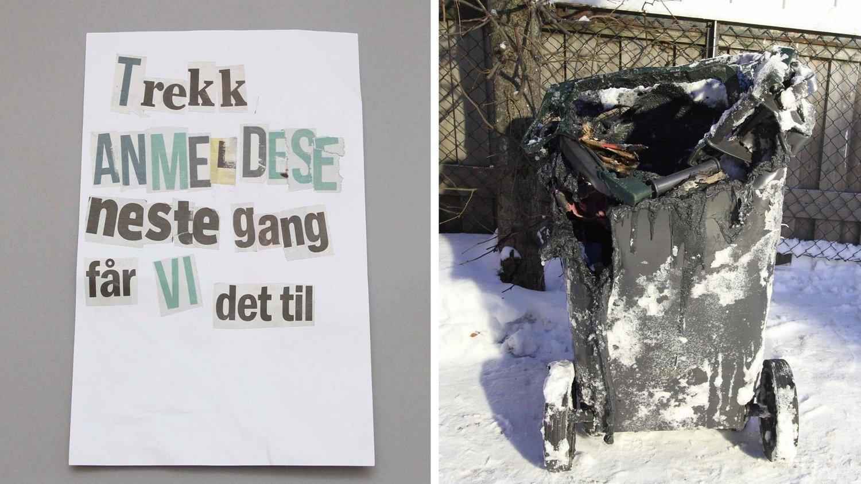 PST mener at Laila Anita Bertheussen sendte dette brevet til Tor Mikkel Wara. Dette skal ha blitt gjort forut for 17. januar 2019. Torsdag 17. januar mener politiet at hun også tente på bosspannet ved huset til Wara. Wara var justisminister på daværende tidspunkt.