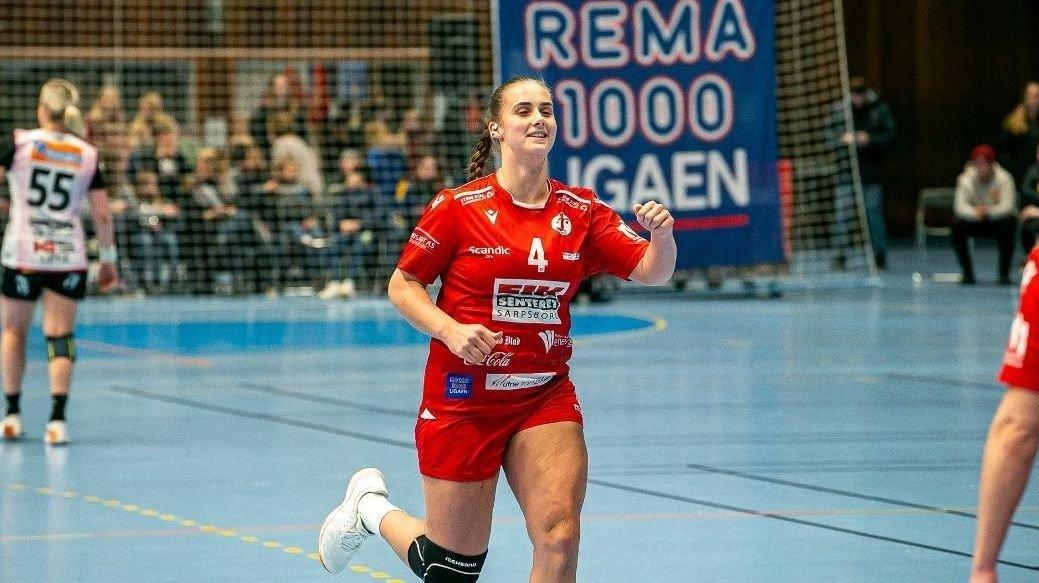 Thale Rushfeldt Deila er blant de mestscorende spillerne i Rema 1000-ligaen. Vi tror hun kan lage trøbbel for Byåsen i kveld. Foto: Fredrikstad Blad