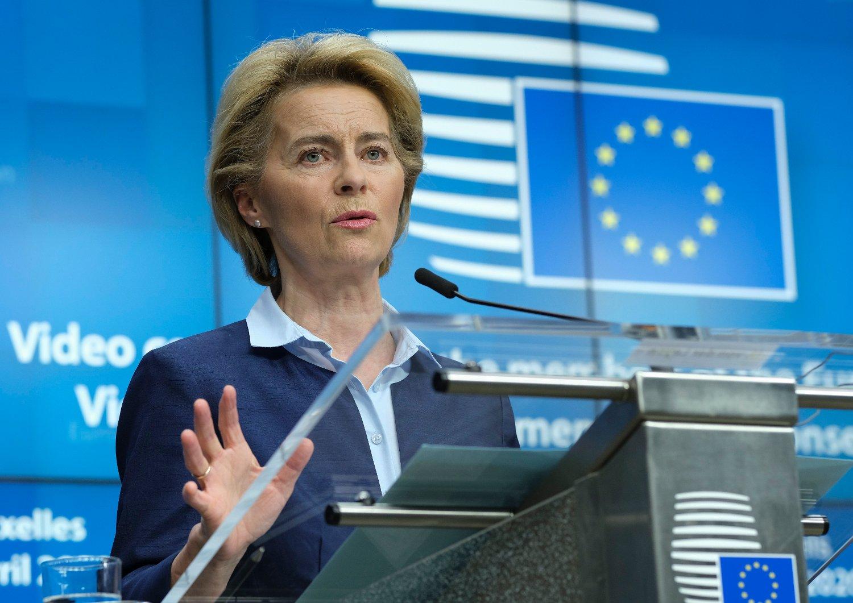 Ursula von der Leyen er vert for mandagens konferanse. Arkivfoto: Olivier Hoslet / AP / NTB scanpix