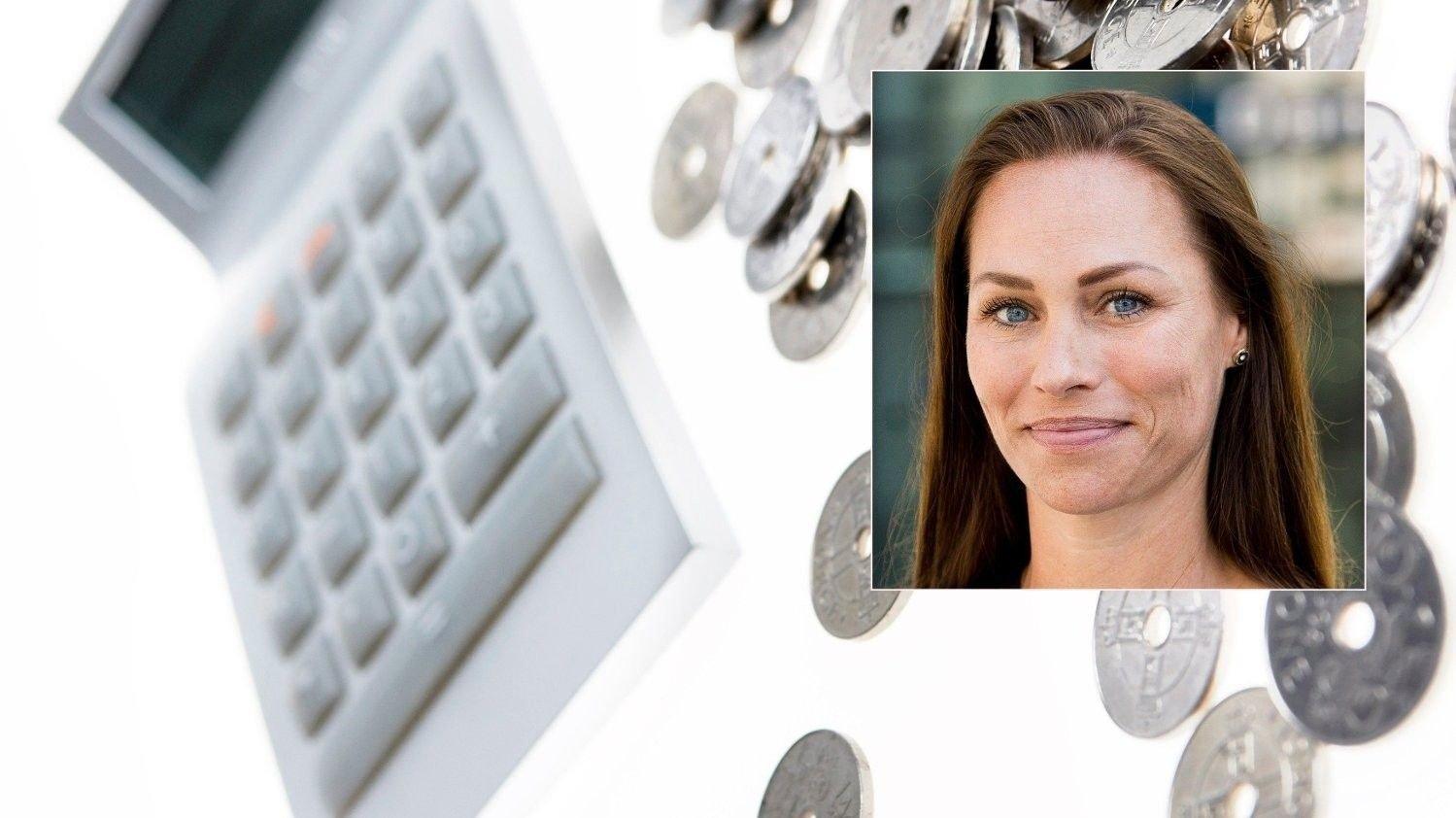 ADVARER: Forbrukerøkonom Cecilie Tvetenstrand i Danske Bank advarer mot å starte pensjonssparingen for sent.