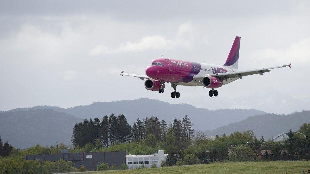 NY RUTE: Wiz Air åpner ny direkterute til Flesland.