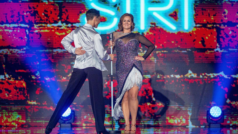 Siri Kristiansen og Tarjei Svalastog. Skal vi danse - program 05. Bildene kan kun brukes av media i forbindelse med omtale av TV 2 eller TV 2s programmer.