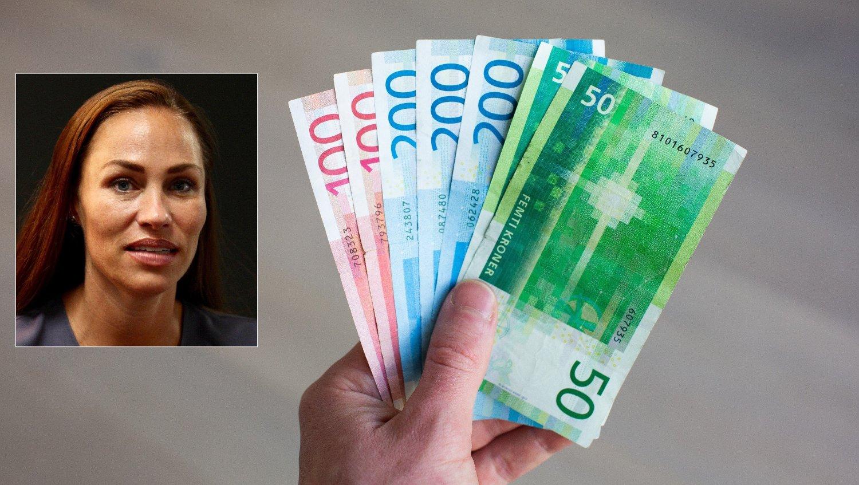 ADVARER OM PENSJON: Men forbrukerøkonom Cecilie Tvetenstrand i Danske Bank advarer mot lavere pensjonsutbetalinger, helt uavhengig av koronakrisen og krisepakker.