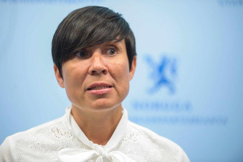 Utenriksminister Ine Eriksen Søreide.
