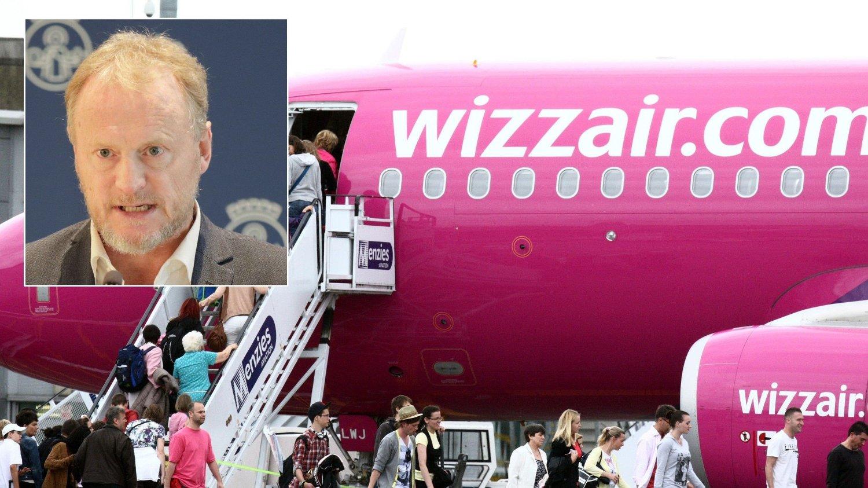 BOIKOTT: Raymond Johansen vil boikotte ungarske Wizz Air, men har ingen sans for at Erna Solberg sier det samme.