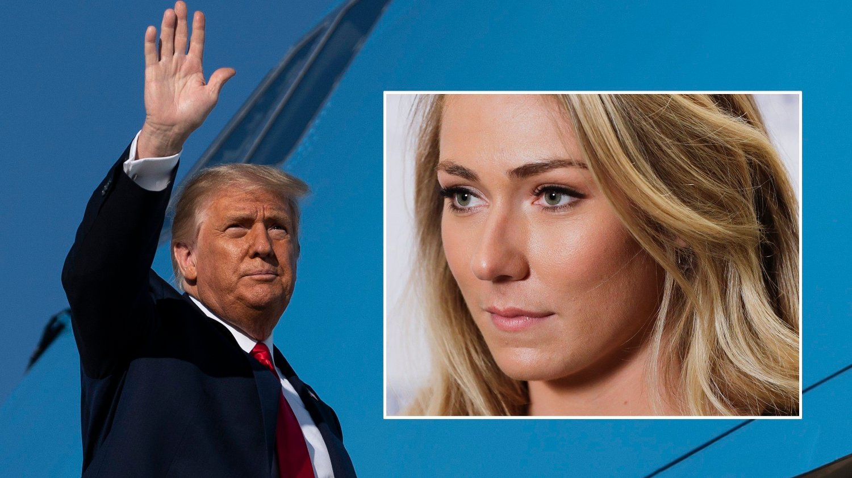 EN VEKKER: Den amerikanske alpinstjernen Mikaela Shiffrin mener Donald Trumps koronasmitte bør være en stor vekker.