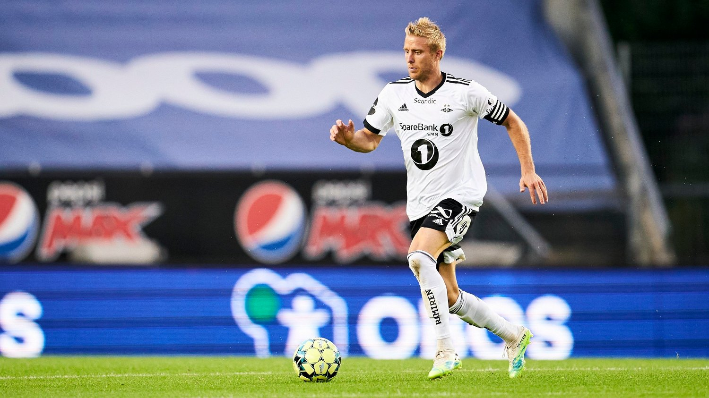 Rosenborgs Per Ciljan Skjelbred i eliteseriekampen i fotball mellom Rosenborg og Viking på Lerkendal Stadion.