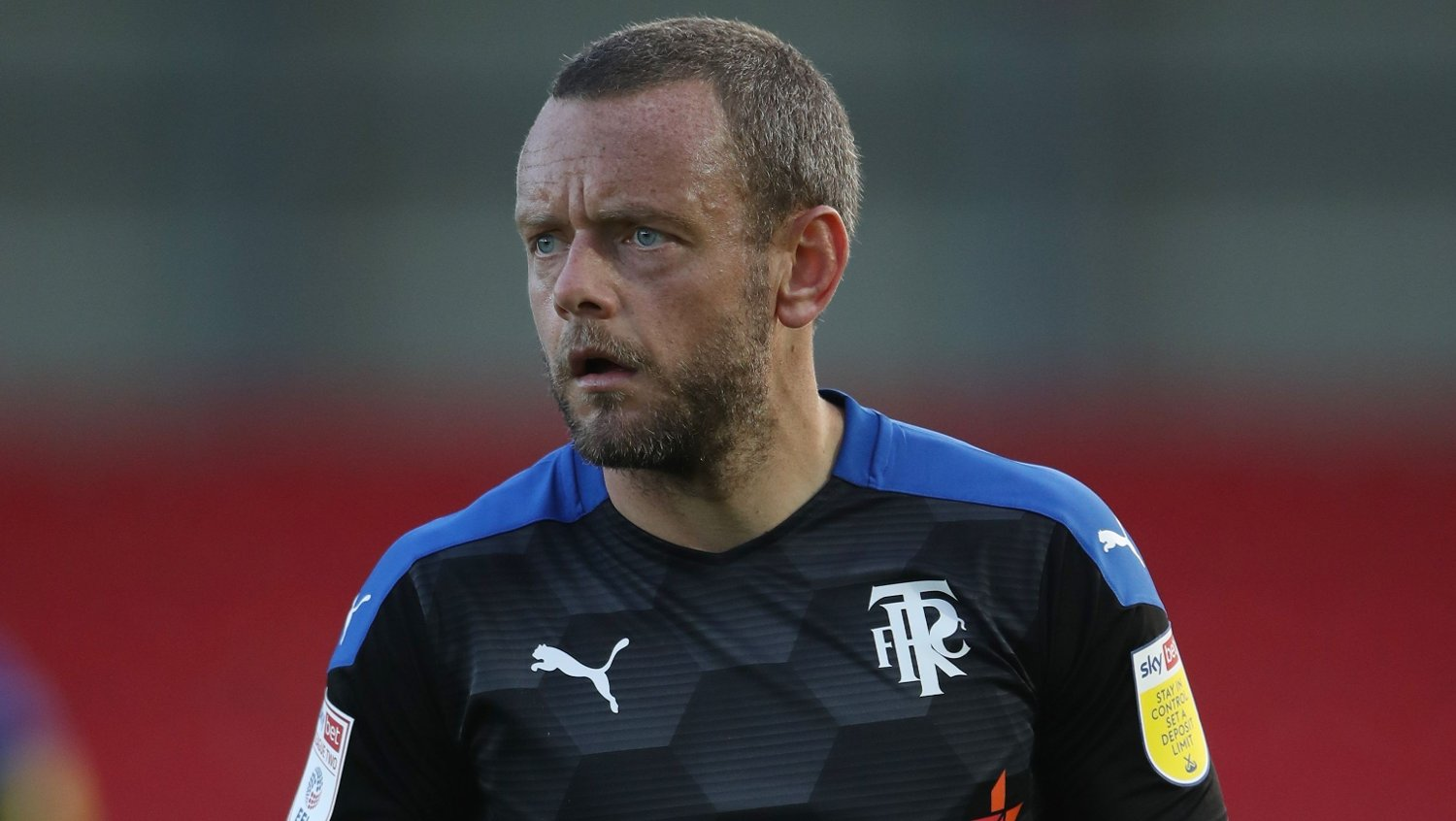 Tranmere Rovers' Jay Spearing during the Sky Bet League Two match at The Peninsula Stadium, Salford.