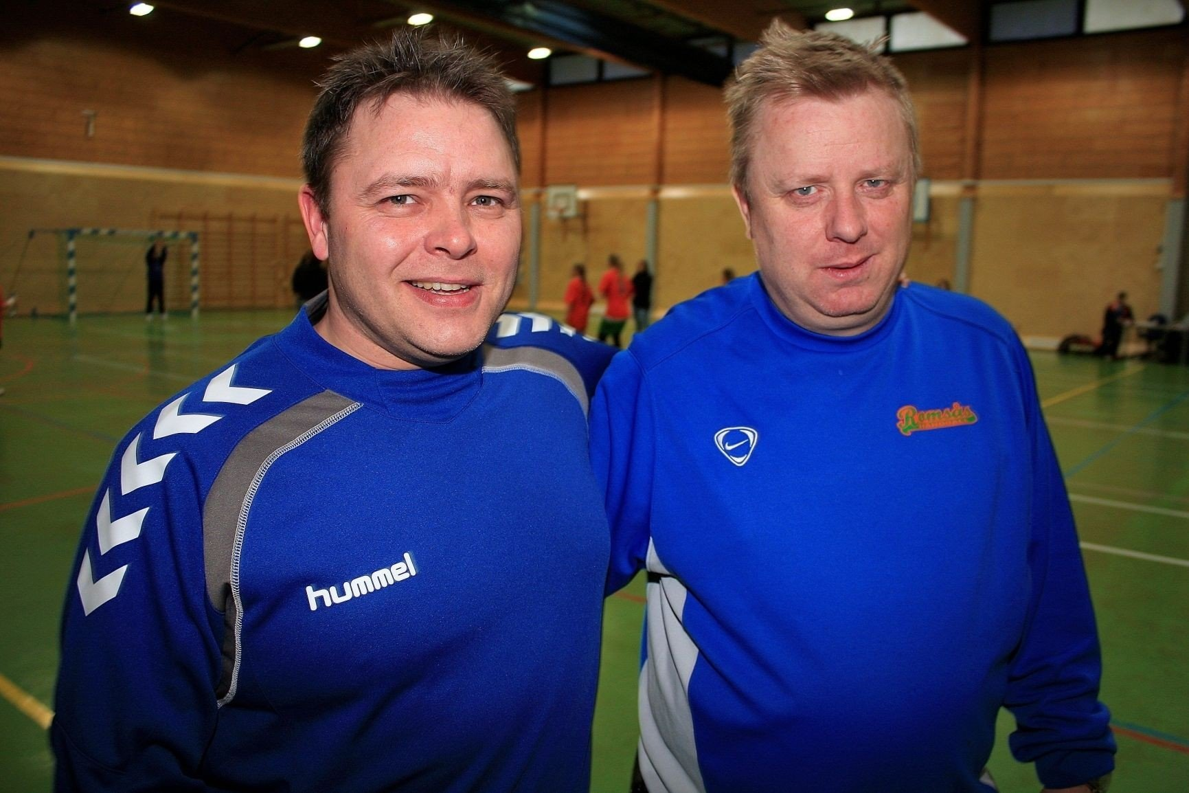 e30cd6e1 LETTET: Romsås-trenerne Kai Torgvær og Tore Kristiansen.