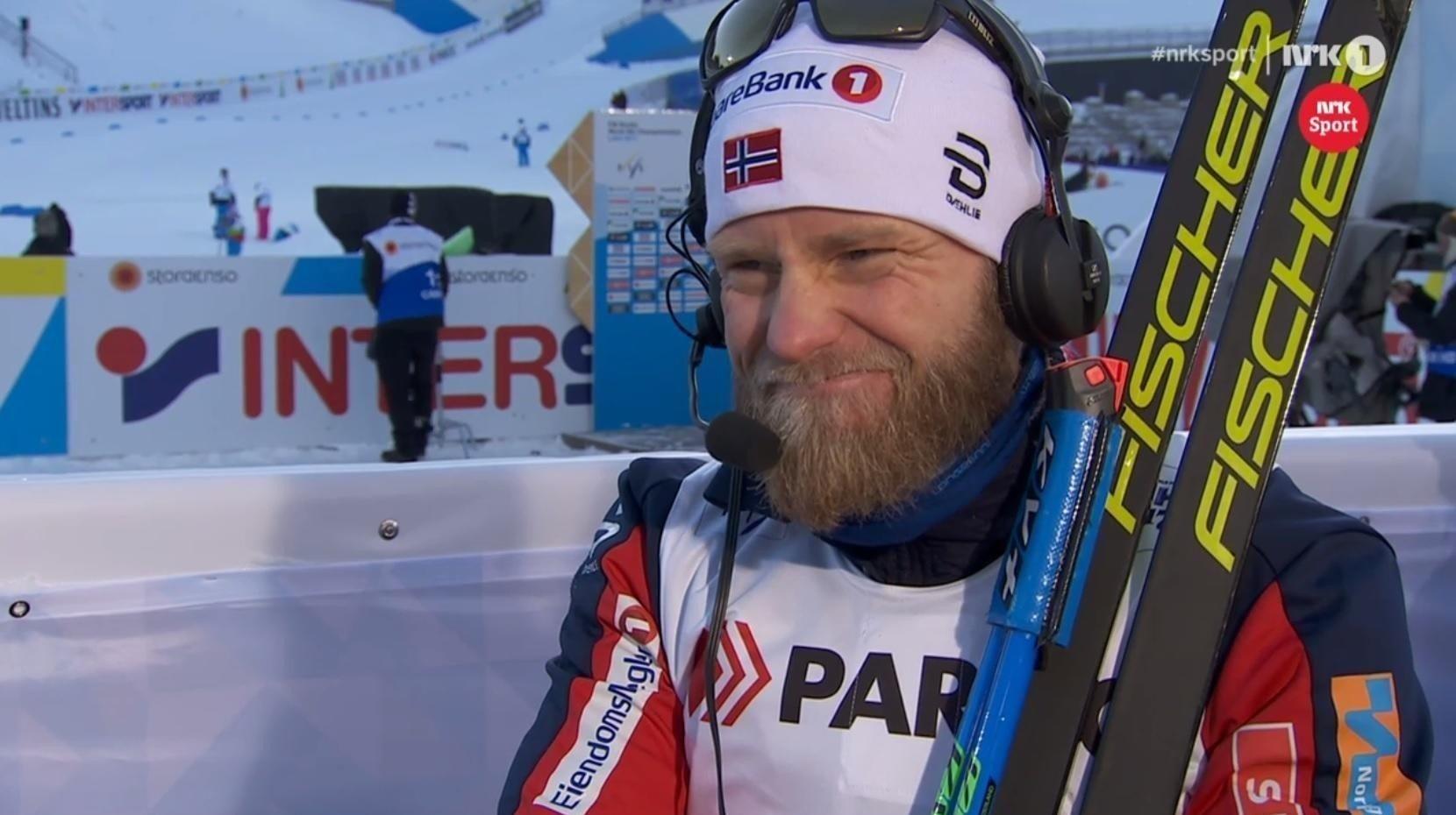 Martin Johnsrud Sundby Lahti Sundby Brakk Staven Og Falt Fra Vm Gullet