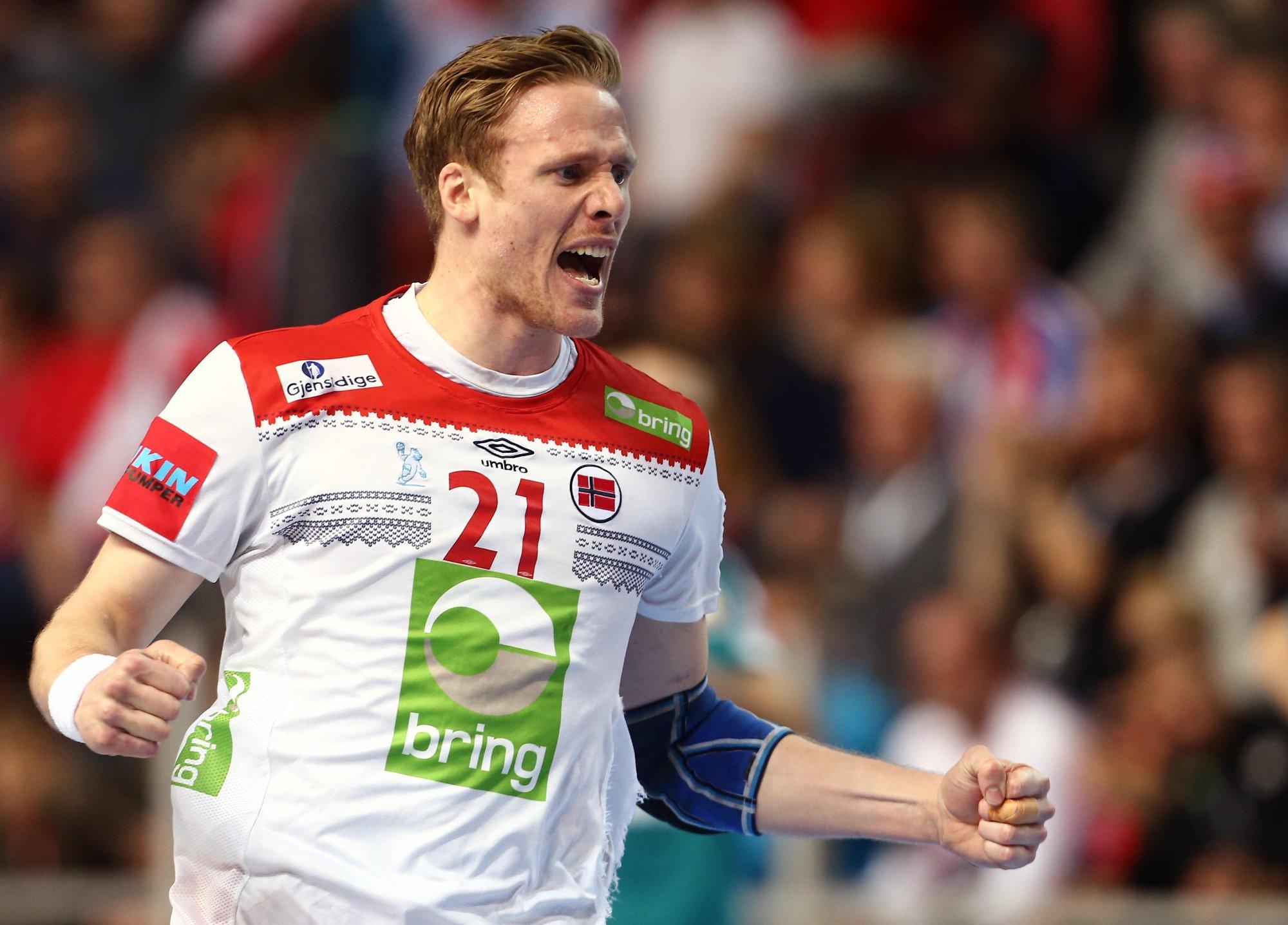 dab86644 ... en fantastisk prestasjon mot Hviterussland, ifølge TV 3-kommentator og  tidligere håndballspiller, Kristian Kjelling. Foto: Antonio Bronic (Reuters)