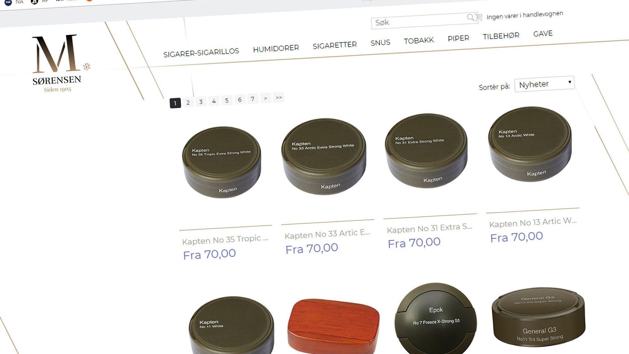 35624b449 snus , Grensehandel | Billig snus på nett er den nye farsotten
