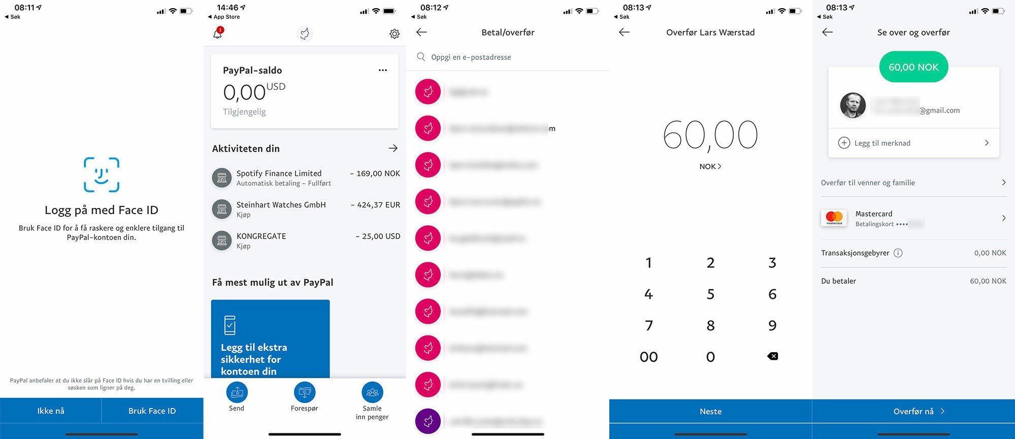 35fe126a Utfordringen ser ut til at den registrerer alle e-postadresser helt  uavhengig av om de er aktive PayPal-brukere eller ei, så en må holde tunga  rett i munn.